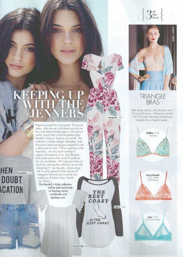 бикини от Isabel Garcia в журнале Hello Fashion