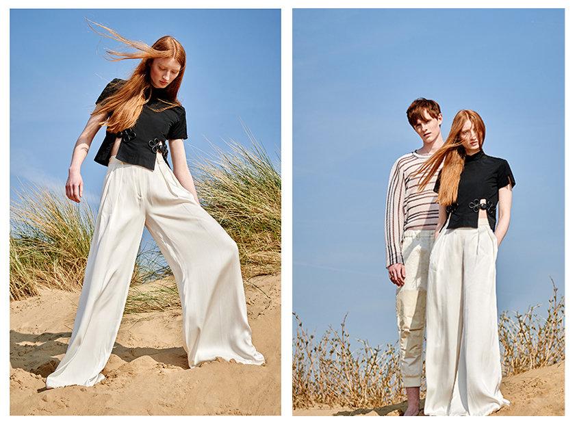белые брюки от Isabel Garcia