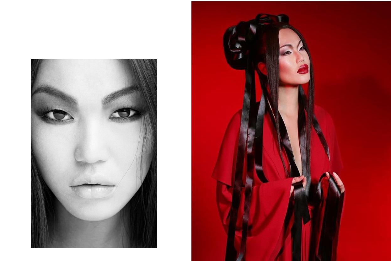 Isabel Garcia Анна Киле Мисс Азия 2014 красная капсульная коллекция