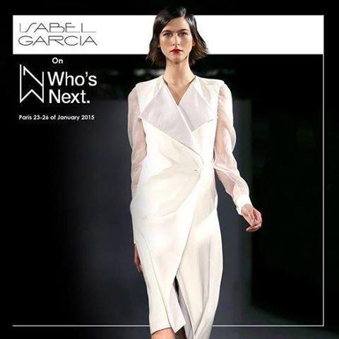 Выставка WHO'S NEXT Isabel Garcia
