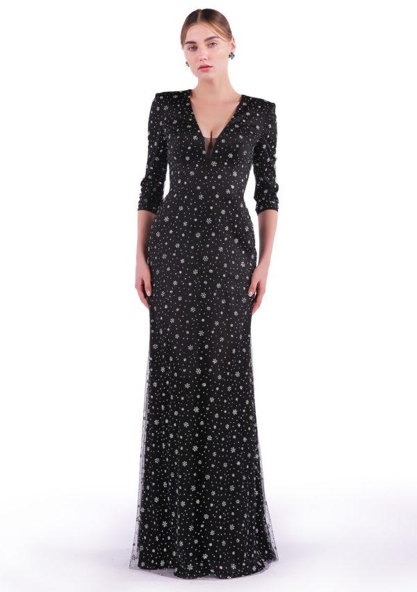 вечернее платье 1757