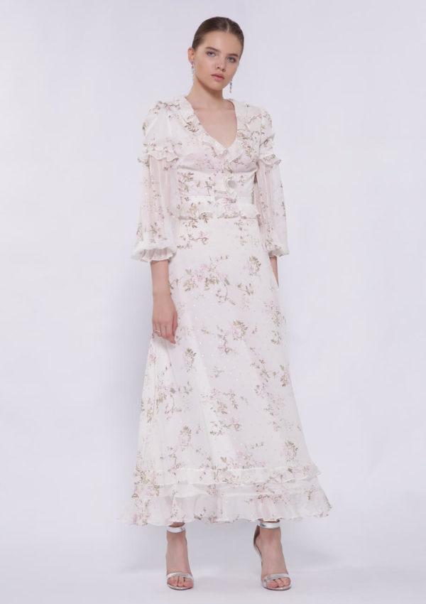 Коктейльное платье в пол BI2195