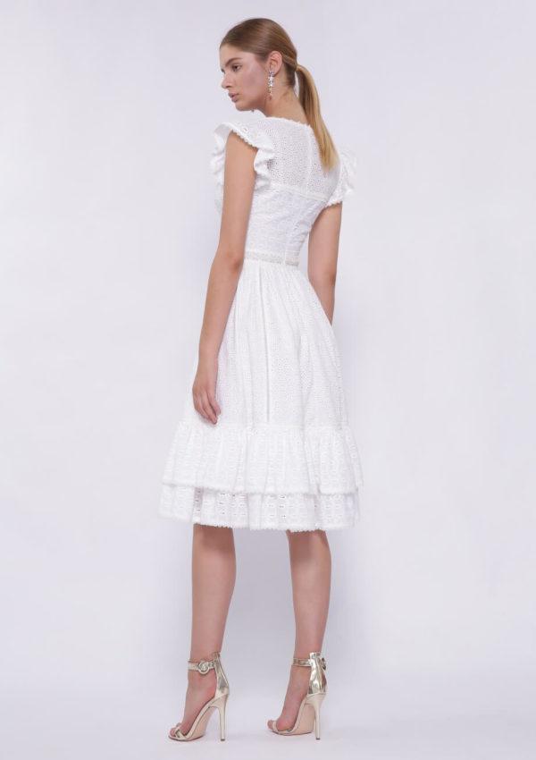 Коктейльное платье до колена BN2202